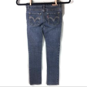 Levi's Bottoms - Levi's Skinny Fit Girl's Ramie Jeans Size 8